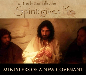 who has made us competent to be ministers of a new covenant, not of the letter but of the Spirit. For the letter kills, but the Spirit gives life.