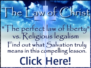 The perfect law of liberty. Find out what Salvation truly means.